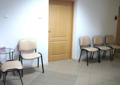 Centrum Stomatologiczne Demed Płock poczekalnia