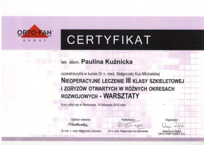 Demed ortodonta Kuznicka Paulina 2015 11 14