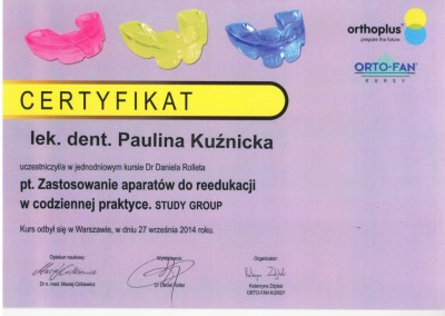 Demed ortodonta Kuznicka Paulina OrthoPlus 2014 09